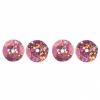 Sequins Round 8mm Aprx 850pcs Hologram Rosa